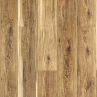 Sundance Canyon Hickory 7.13 in. W x 48.03 in. L Waterproof High Traffic Luxury Vinyl Plank Flooring (19.05 sq. ft/case)