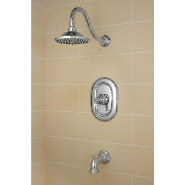 American Standard - Quentin 1-Handle Tub and Shower Faucet Trim Kit in Polished Chrome (Valve Sold Separately)