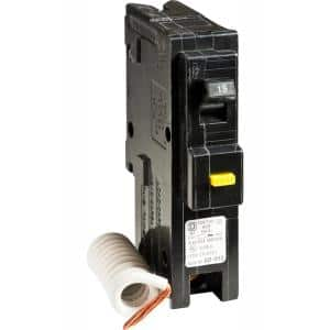 Homeline 15 Amp Single-Pole GFCI Circuit Breaker
