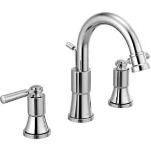 Westchester 8 in. Widespread 2-Handle Bathroom Faucet in Chrome
