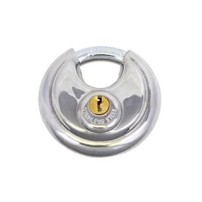 1000PRO-70 Disc Padlock, High Security 6-Pin Cylinder