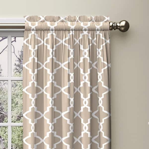Pair Curtains drapery 25 wide Magnolia Palmetto rod panels drapes in slate grey linen lagoon spa blue 25x63 25x84 25x96 25x108