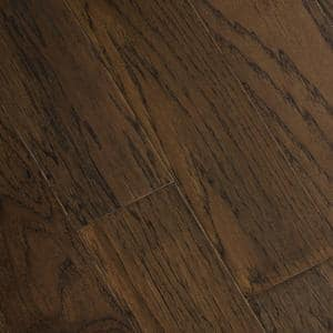 Wire Brushed Ashor Hickory 3/8 in. T x 5 in. W x Varying Length Click Lock Eng Hardwood Flooring (19.686 sq. ft. / case)