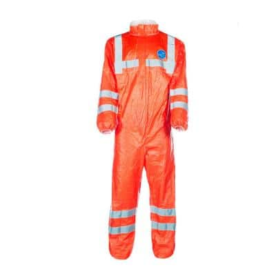 Trimaco DuPont Tyvek 500 Visibility Coveralls, Large
