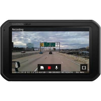 dezlCam 785 LMT-S 7 in. GPS Navigator with Built-in Dash Cam, Bluetooth and Lifetime Maps