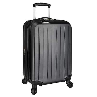 Elite Dori Expandable Carry-On Spinner Luggage, Black