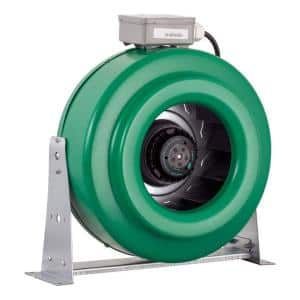 ACDF10 Active Air 10 in. Inline Hydroponic Fan with Mounts, 760 CFM