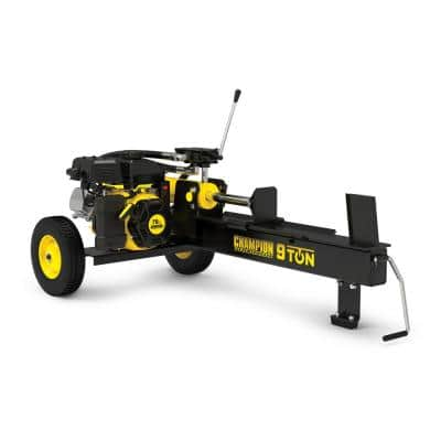 9-Ton 80 cc Compact Horizontal Gas Wood Log Splitter with Auto Return
