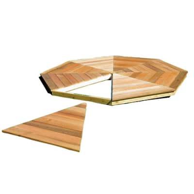 San Marino 10 ft. Gazebo Floor Kit