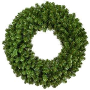 Sequoia Fir 48 in. Unlit Artificial Commercial Wreath