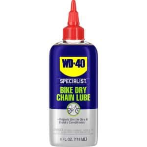 4 oz. Bike Dry Chain Lube, High-Performance Lubricant for Dry & Dusty Conditions
