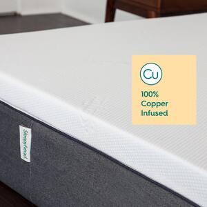 Sleepyhead Copper Topper 3 in. Plush Standard Memory Foam Full XL Mattress Topper