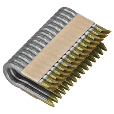 1.5 in. x 9-Gauge Galvanized Barbed Paper Tape Fencing Staples (960 per Box)