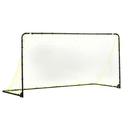 6 ft. x 12 ft. Black Folding Goal