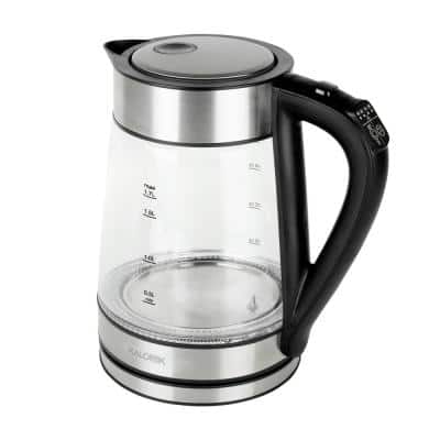7-Cup Cordless Glass Electric Kettle