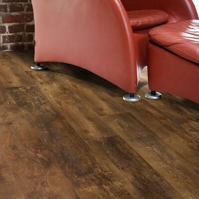 Trail Oak Brown 8 in. x 48 in. Luxury Vinyl Plank Flooring (18.22 sq. ft. / case)