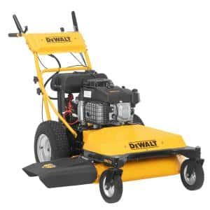 DW33 33 in. 382 cc OHV Electric Start Engine Wide-Area Gas Walk Behind Lawn Mower