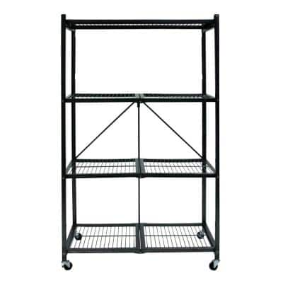 4-Tier Garage Storage Shelving Unit (36 in. W x 60 in. H x 21 in. D)