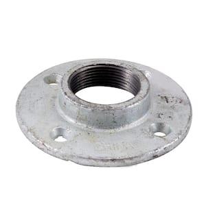 1-1/2 in. Galvanized Iron Floor Flange