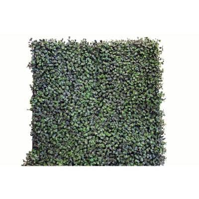 20 in. x 20 in. Artificial Ficus Wall Panels (Set of 4)