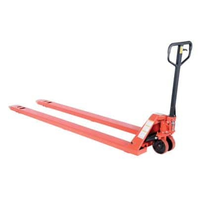 27 in. x 96 in. 4,000 lbs. Capacity Full Featured Deluxe Pallet Truck