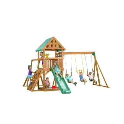 Mountain View Playset with Tarp Roof, Multi-Color Accessories
