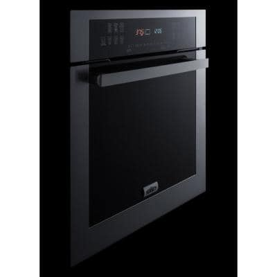 23.5 in. Single Electric Wall Oven in Stainless Steel