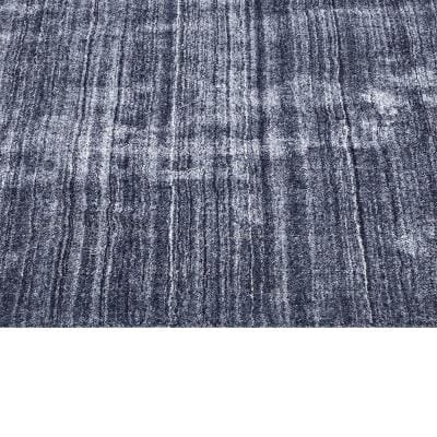 Harbor Contemporary Solid Denim 10 ft. x 14 ft. Hand Loomed Area Rug