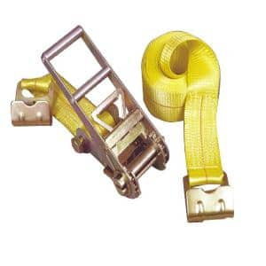 27 ft. x 3 in. x 15,000 lbs. Ratchet Buckled Strap Tie Down