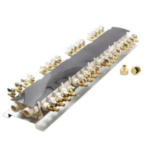 32-Port PEX Manifold with 1/2 in. Brass Ball Valves