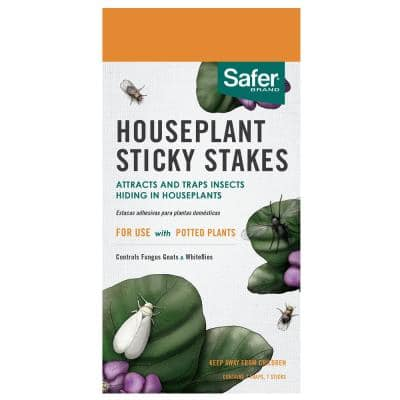 Houseplant Sticky Stakes Insect Traps (7-Count)