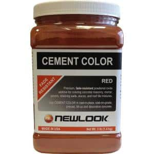 3 lb. Red Fade Resistant Cement Color