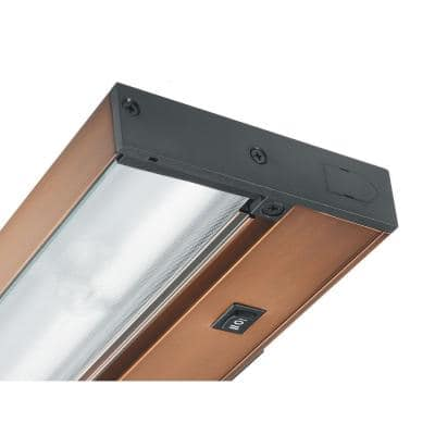 Pro-Series 22 in. Brushed Bronze Xenon Under Cabinet Light