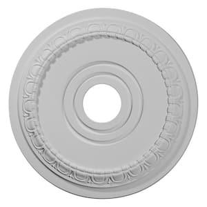 17-1/2'' x 3-5/8'' I.D. x 1'' Munich Urethane Ceiling Medallion (Fits Canopies upto 5-5/8''), Primed White