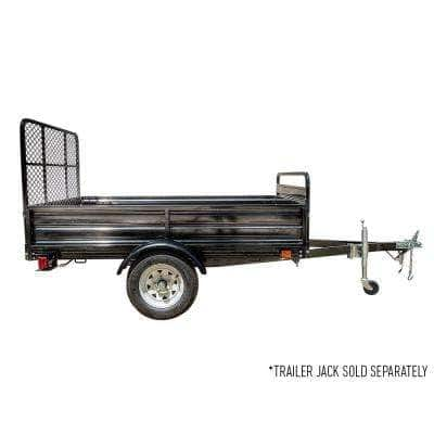 4.5 ft. x 7.5 ft. Single Axle Utility Trailer Kit with Drive-Up Gate