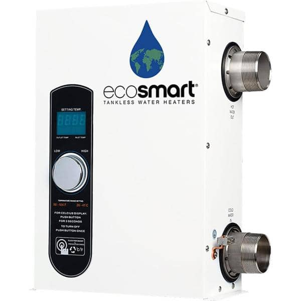 Ecosmart Smart Pool 27 Tankless Electric Pool Heater 27 Kw 240 V Smart Pool 27 The Home Depot