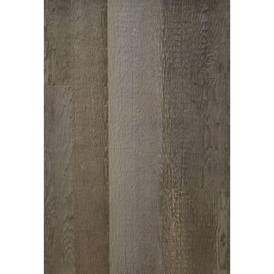 Wall Design 3/8 in. x 22 in. x 96 in. Rustic Faux Barn Wood Hampton Embossed Panel