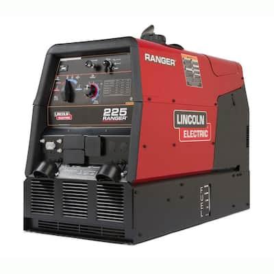225 Amp Ranger 225 Gas Engine Driven DC Multi-Process Welder, 10.5 kW Peak Generator (Kohler)