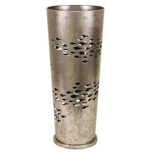 Silver Metal Umbrella Stand
