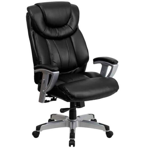 Flash Furniture Black Leather Office, Black Desk Chairs