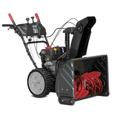 Storm XP 26 in. 243 cc 2-Stage Self Propelled Gas Snow Blower with Electric Start, Trigger Steering and Airless Tires