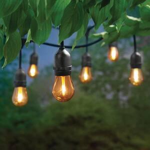 12 ft. 6 Socket LED Flame Effect Indoor/Outdoor String Light