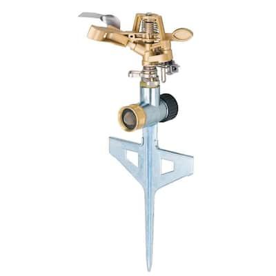 Pulsator Sprinkler with Step Spike