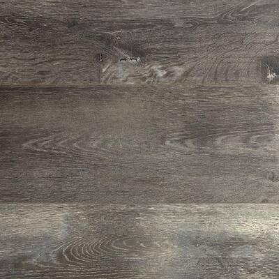 Dowden Gray Oak 12 mm T x 6.34 in. W x 47.72 in. L Water Resistant Laminate Flooring (16.80 sq. ft./case)