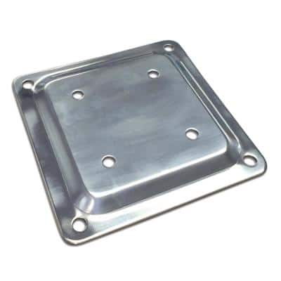 Fixplak 44 Decking Base Plate Stainless Steel (Pack of 10 Units)