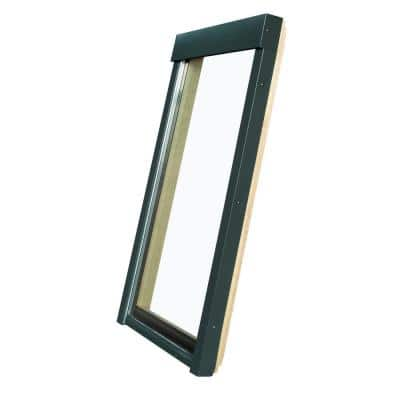 FX 22-1/2 in. x 70 in. Rough Opening, Fixed Deck-Mounted Skylight with Tempered Low-E Glass