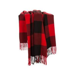 60 in. L Plaid WovenThrow