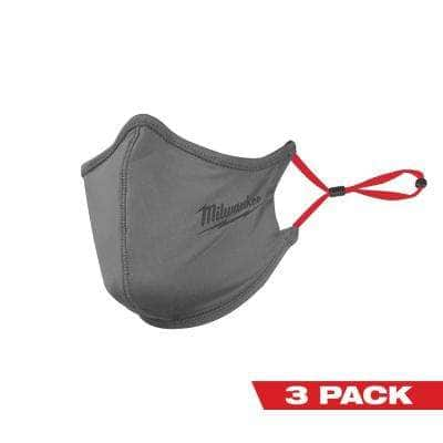 Gray 2-Layer Reusable Face Mask (3-Pack)