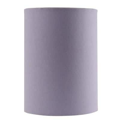 8 in. x 11 in. Purple Drum/Cylinder Lamp Shade