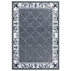 Bristol Altamont Grey 2 ft. 7 in. x 4 ft. 2 in. Area Rug